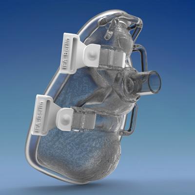 3D-Modell Beatmungsmaske